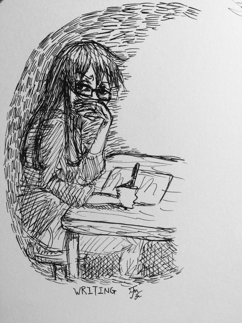 WRITING by Jinjintszkam