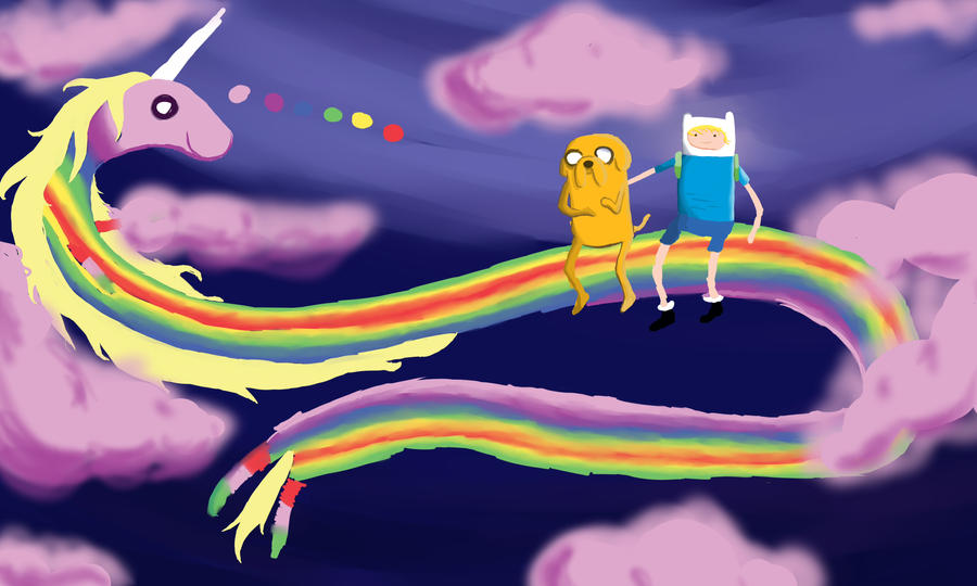 Adventure Time WIP by RoyalAceBANA