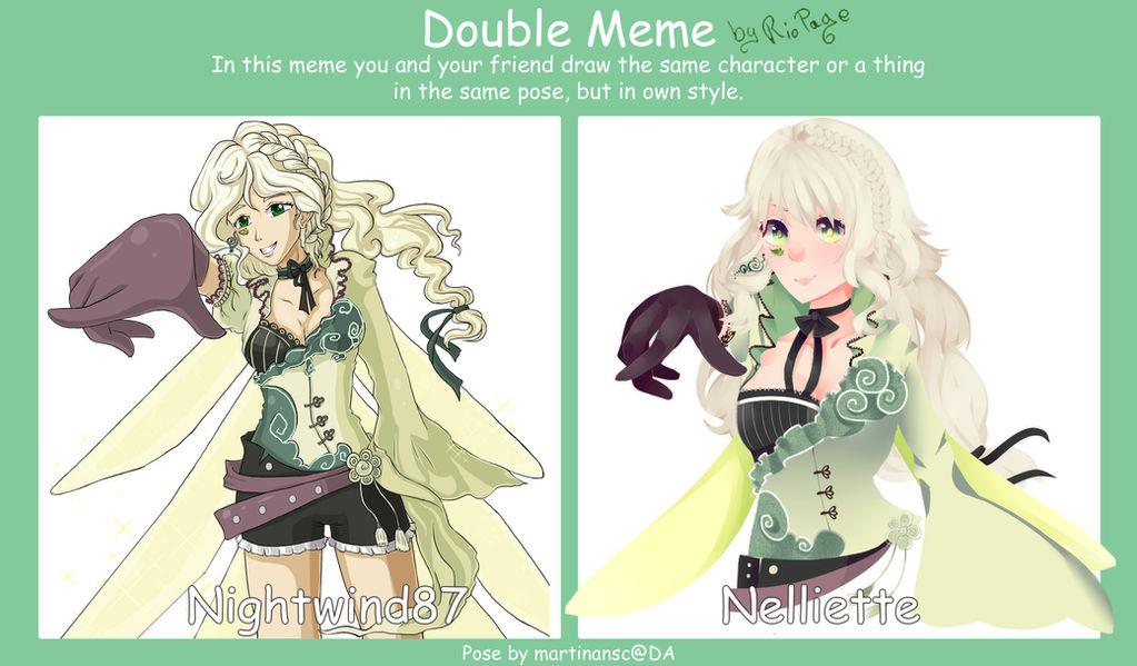 Double meme - Fran !