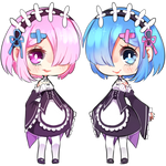 RE Zero: Ram and Rem
