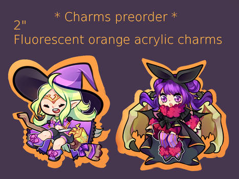 Nowi and Myrrh charms preorders