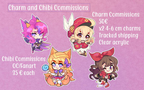 [OPEN] Charm Commission
