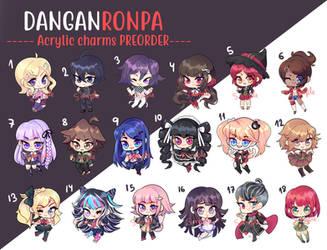 Danganronpa Charm - PREORDERS