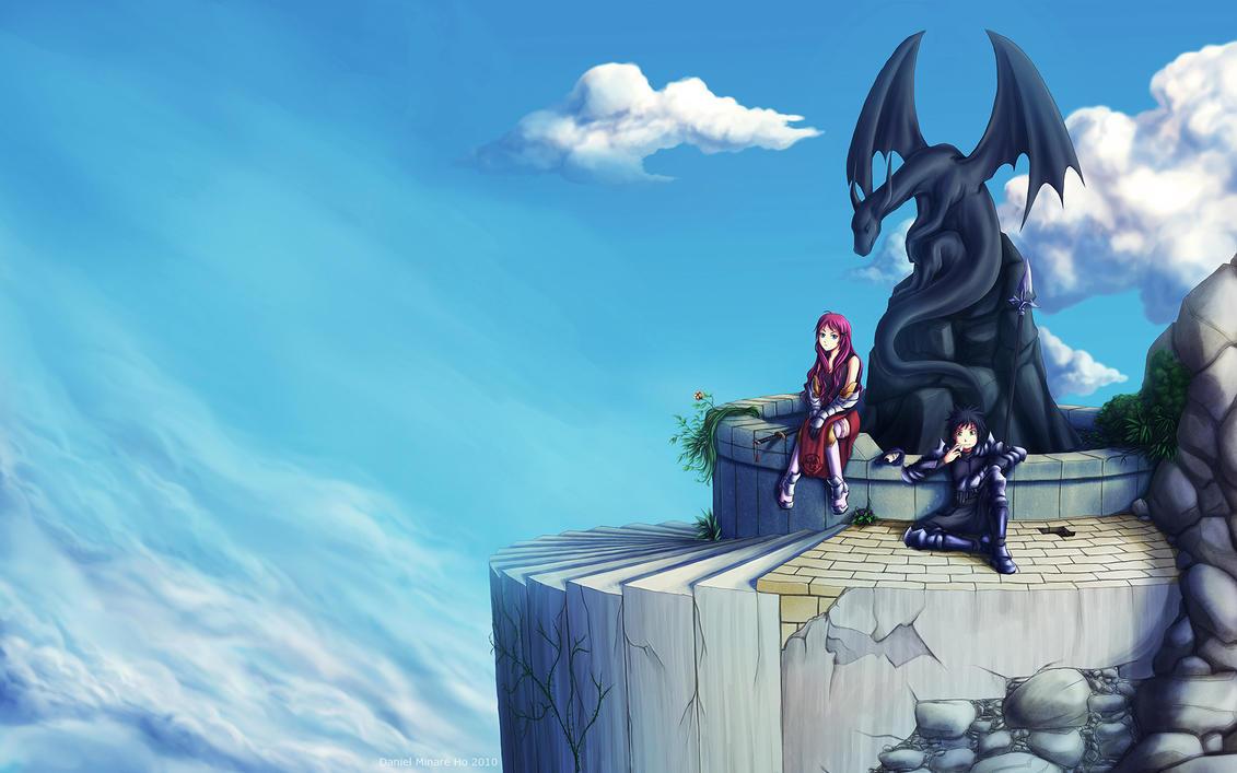 Dragon Hunters - Wallpaper by HoZhuangShi