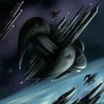 Black Space Station