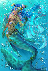Turquoise Depths