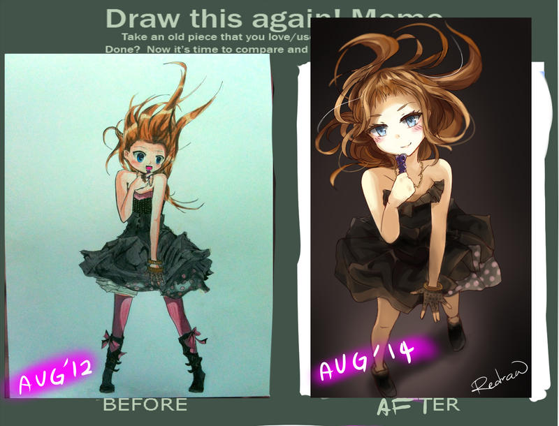 Improvement meme by Hokkyokuu
