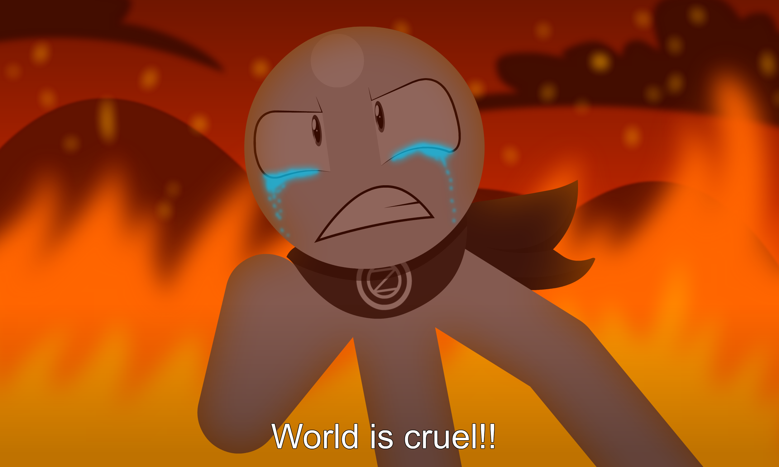 World Is Cruel By GrayTyphoon On DeviantArt