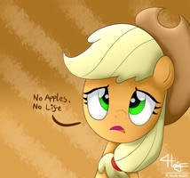 No Apples, No Life by GrayTyphoon