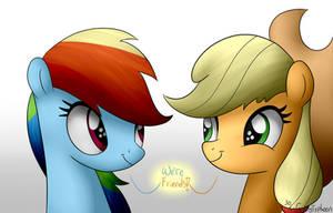 We're Friends by GrayTyphoon