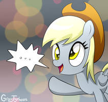 Derpy with Cowboy Hat by GrayTyphoon