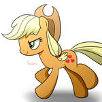 Applejack's Running