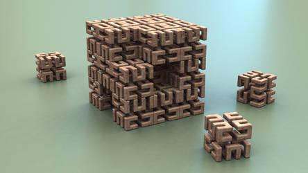 Cubix IV by Mark-Tamaro
