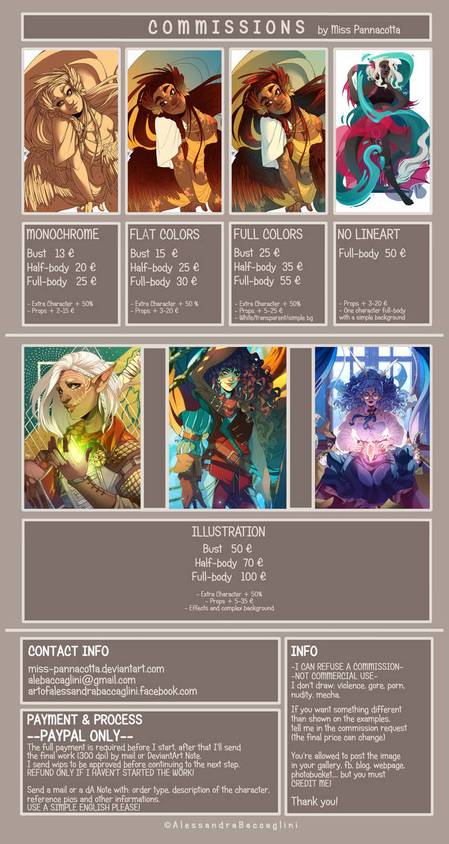 COMMISSIONS INFO: CLOSED