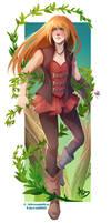 Commission - Flora by Apophis Saga