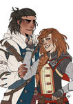 Commission - Ciaran and Connor by HeicanStars