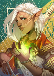 Dragon Age - Rill Lavellan by Miss-Pannacotta