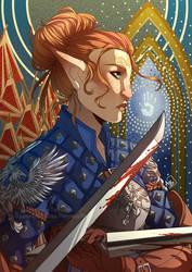 Dragon Age - Mahariel by Miss-Pannacotta