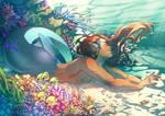Merman by Miss-Pannacotta