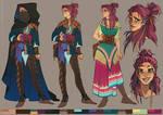 Character design: Half-elf