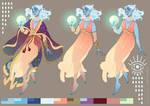 Character design: Air Genasi