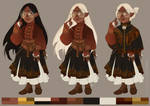 Character design: Halfling