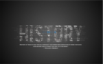 History Typography Wallpaper
