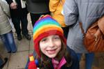 My Daughter at the Ludwigsburg Weihnachtsmarkt