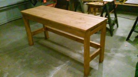 Simple 2x4 Desk