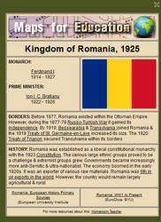 Romania, 1925 by ebturner