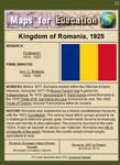 Romania, 1925