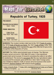 Turkey, 1925 by ebturner