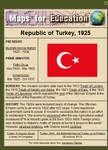 Turkey, 1925