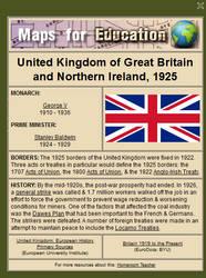United Kingdom, 1925