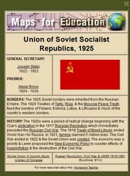 USSR, 1925