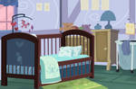 Background: Baby Cakes Bedroom