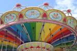 Rainbow Carousel Ride by Maggiesdaisy