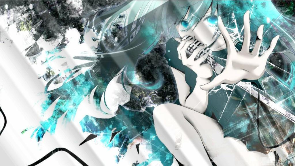 Hatsune Miku Broken Glass by Irsyada007 on DeviantArt