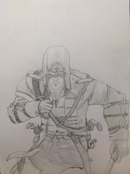 Assassin's Creed III - Connor running[WIP]