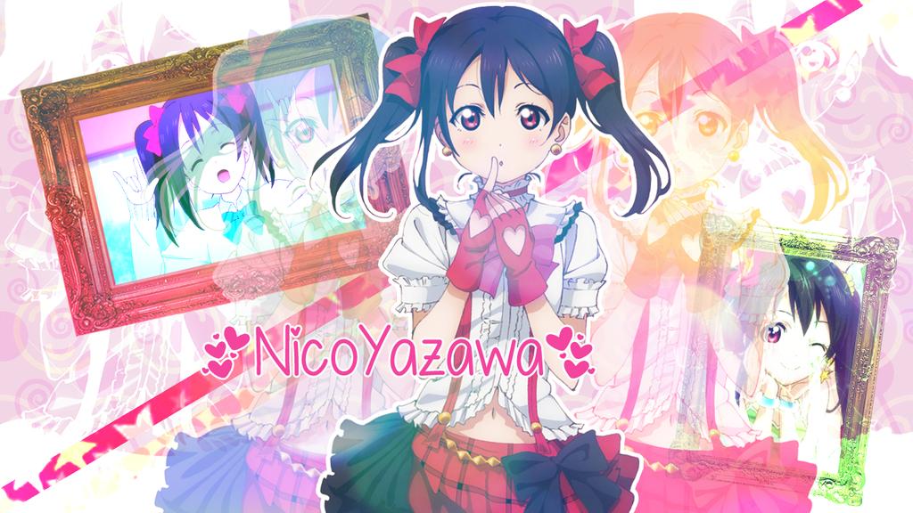 Nico Yazawa ~ Wallpaper by therosalina23