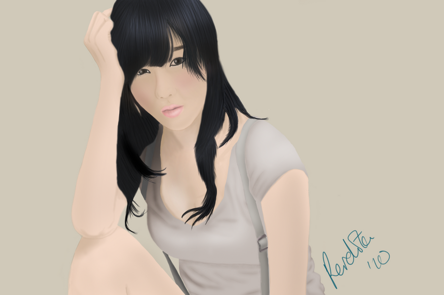 Portrait of Choi Byul-I by perdita00