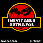 Jurassic Betrayal - Qwertee SALE