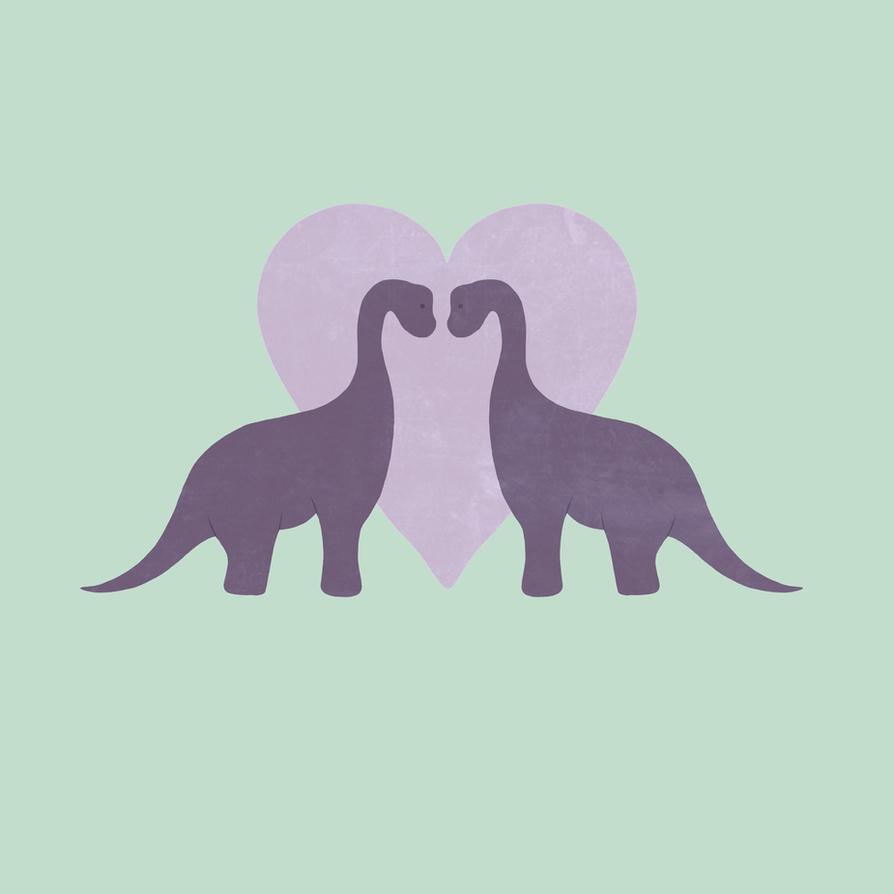 Prehistoric Love by perdita00