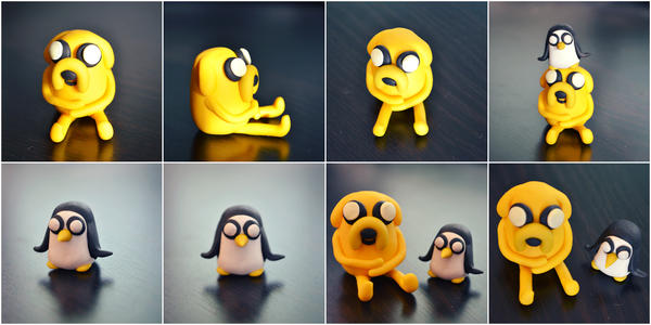 Jake and Gunter by perdita00