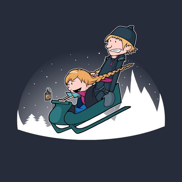 A Snowy Ride by perdita00