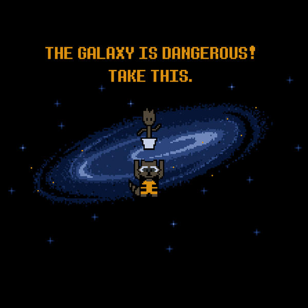 The Galaxy is Dangerous by perdita00