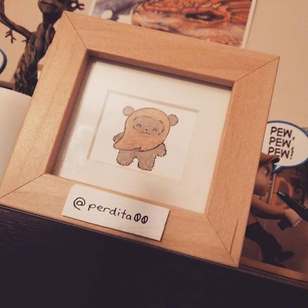 Tiny Ewok by perdita00