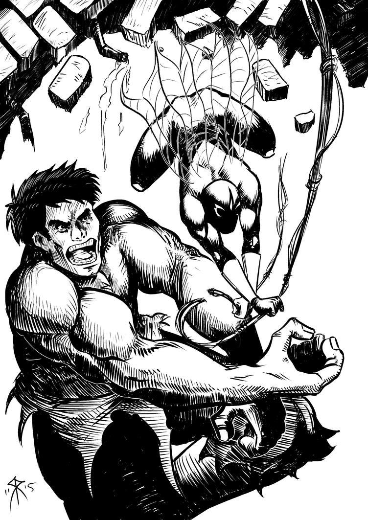 Aquaticas VS Hulk by Genko