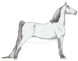 Andalusian Horse Adoptable [OPEN] by distrupe
