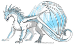 IceWing Adoptable [OPEN] by distrupe